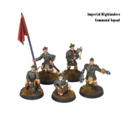 Kromlech - Imperial Highlanders Command Squad Guard Bnib Bolt Action