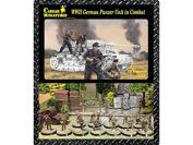 Caesar Miniatures H085 – Model Figures Wwii German Panzer Unit In Combat