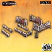 Plast Craft Games Bnib Rusty Barricades Pa005