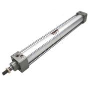 Heschen Pneumatic Standard Cylinder SC 32-300 PT1/8 port, 32mm(1 1/4 inch) Bore, 300mm(12 inch) Stroke, Single Rod Double Action