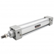 "Heschen Pneumatic Standard Cylinder SC 32-150 PT1/8 port, 32mm(1 1/4"") Bore, 150mm(6"") Stroke, Single Rod Double Action"