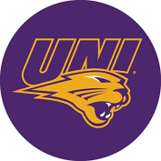 Northern Iowa Panthers UNI RR 10cm Round Vinyl Magnet Auto Home University of