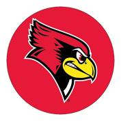Illinois State Redbirds RR 10cm Round Vinyl Magnet Auto Home University of