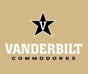 Vanderbilt Commodores RR 13cm x 15cm Vinyl Magnet Auto Home University of