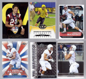 """(6) CHRISTIAN MCCAFFREY 2009-2017 """"1ST EVER PRINTED"""" """"6"""" CARD ROOKIE LOT! STANFORD!"""