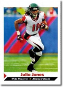 """JULIO JONES 5110cm 1ST EVER PRINTED"""" SPORTS ILLUSTRATED ROOKIE CARD #280! W/H TOP LOADER!"""