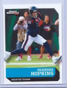 (5) DEANDRE HOPKINS 2016 SPORTS ILLUSTRATED (5) CARD LOT! W/H TOP LOADER!