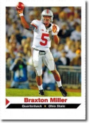 """BRAXTON MILLER 5110cm 1ST EVER PRINTED"""" SI 1 OF 9 ROOKIE CARD! OHIO STATE BUCKEYES!"""