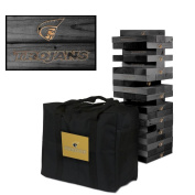 Anderson Trojans Onyx Stained Giant Wooden Tumble Tower Game