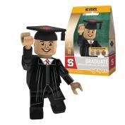 NCAA North Carolina State Wolfpack Male Graduate Minifigure