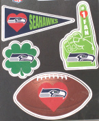 Seattle Seahawks 4 Pack Team Magnets