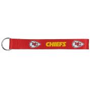 NFL Kansas City Chiefs Lanyard Key Chain, Red