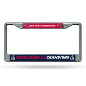 NFL New England Patriots Super Bowl LI Champs Chrome Frame
