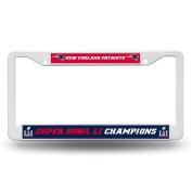 NFL New England Patriots Super Bowl LI Champs Plastic Frame