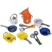 Miffy Kid Children Pretend Play Game Kitchen Cooking Utensil Set Pan Pot 0478015