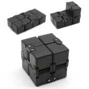 Infinity Cube Relief Pressure Reduce Stress Mini Fidget Toy Anti Anciety Perfect for Children & Adult Puzzle Infinity Cubes