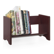 Tabletop Book and Binder Rack - Cherry