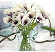Bridal Wedding Party Decor Bouquet 3pcs Latex Touch Flower Bunch