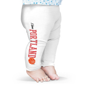 Twisted Envy I Love Portland Basketball Baby Printed Leggings Trousers