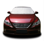 SUAIBEI Car Windshield Sunshade - Made From Nylon Polyester Material. Protects You From the Sun's Heat and UV Radiation