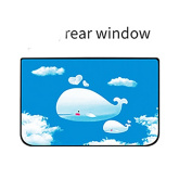 SUAIBEI Car Sun Shade for Side and Rear Window - Protect your baby and kids in the back seat from sun glare and heat