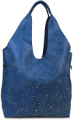 styleBREAKER Bag Handbag with Diamond Set in Starry Sky Design (2 Bags, Shopper Women's 02012031