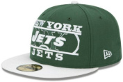 New York Jets ZOOM Fitted Size 8 Hat Cap