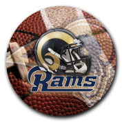 Rams Round Mousepad Mouse Pad Great Gift Idea St. Louis Rams Football