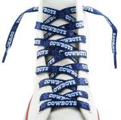 Dallas Cowboys Shoe Laces Blue