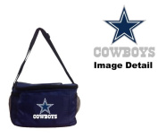 Dallas Cowboys NFL Team Logo 6-Sports Drink Beer Water Soda Beverage Can Insulated Picnic Outdoor Party Beach BBQ Kooler Cooler Lunch Bag Tote - 6-Pack Bag