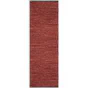Matador Leather Chindi Runner, 0.8m by 3.7m, Copper