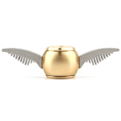 The Gold Snitch Brass Fidget Hand Spinner Toy