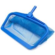 Euone Heavy Duty Leaf Rake Mesh Frame Net Skimmer Cleaner Swimming Pool Spa Tool
