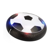 CTREEY Air Power Soccer Disc, Pneumatic Suspended Football with Foam Bumpers and LED Lights, Hover Disc Gliding Ball Disc Toy for Indoor and Outdoor