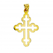 Gold Cross Pendant Necklace Pendant 14 Carat 585 Gold 2803
