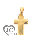 Gold Cross Pendant Cross Gold Pendant 14 Carat Gold 2761