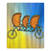 Tacos Riding Bicycle Quick-drying Pool Beach Towel Travel Bath Towel For Kids