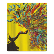 Abstract Colourful Painting Quick-drying Pool Beach Towel Travel Bath Towel For Kids