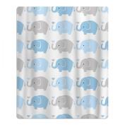 Elephant Cartoon Pattern Quick-drying Pool Beach Towel Travel Bath Towel For Kids