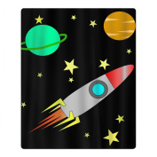 Planet Rocket Space Quick-drying Pool Beach Towel Travel Bath Towel For Kids