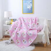 Abreeze Thin Summer Quilts Comforters Cotton Air Conditioning Blankets For Kids Adults 110cm X 130cm