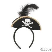 Plush Pirate Headband