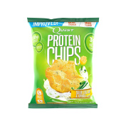 Quest 32 g Sour Cream and Onion Protein Chips Bags - Pack of 8