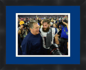 Bill Belichick Super Bowl LI (51) 2016 New England Patriots 14 X 11 Matted Collage Framed Photos Ready to hang