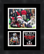 Super Bowl LI (51) 2016 Julian Edelman New England Patriots 11 x 14 Matted Framed Picture Ready to hang