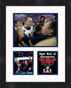 Tom Brady Super Bowl LI (51) 2016 New England Patriots 11 x 14 Matted Collage Framed Photos Ready to hang