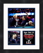 Bill Belichick Super Bowl LI (51) 2016 New England Patriots 11 x 14 Matted Collage Framed Photos Ready to hang