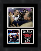 Super Bowl LI Champions New England Patriots Framed 11 x 14 Matted Collage Framed Photos Ready to hang
