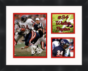 Walter Payton - Chicago Bears, Framed 11 x 14 Matted Collage Framed Photos Ready to hang