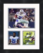 Ezekiel Elliott - Dallas Cowboys, Framed 11 x 14 Matted Collage Framed Photos Ready to hang